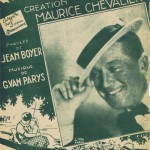Maurice Chevalier - Parition originale